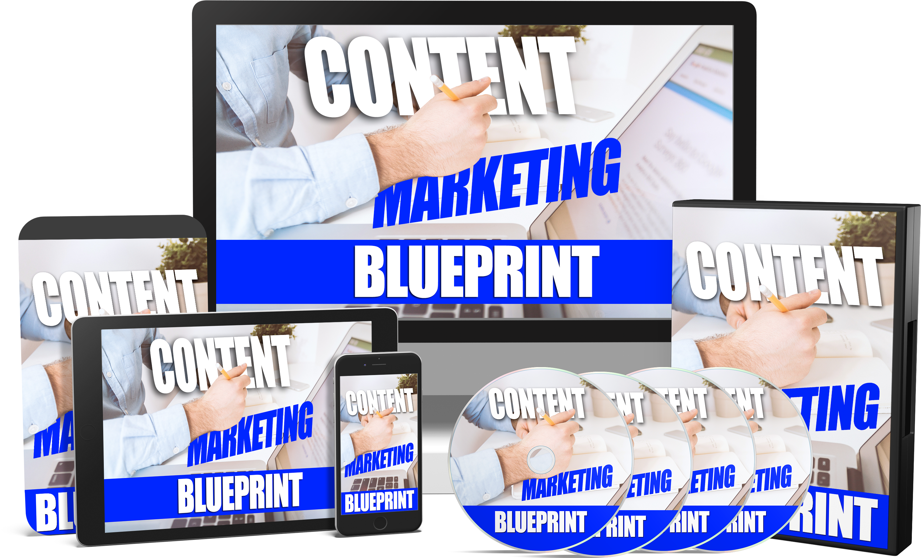Content marketing blueprint plr sales funnels fully integrated sales funnel ready to resell malvernweather Images